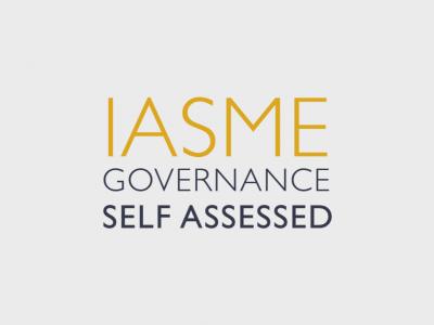 Iasme Governance Self Assessed