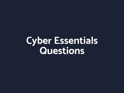 cyber essentials questions